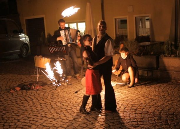 Feuershows - Liebeszauber