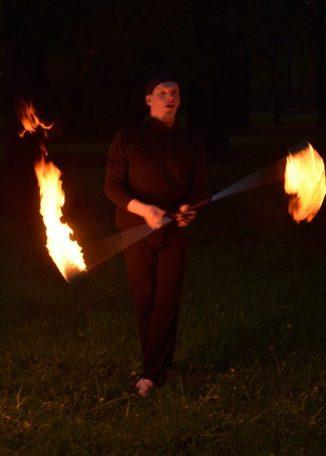 Feuershows - Drachenfeuer